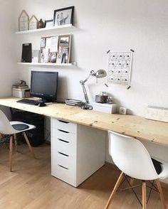 Schreibtisch | SoLebIch.de Foto: About.cln #solebich #wohnen #wohnideen