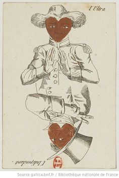 [Jeu de cartes transformées] : [jeu de cartes, estampe] - 35 (1815 -1830)