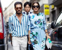 Street style from Milan Fashion Week // Photo: The Styleograph #MFW #streetstyle