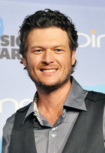 Blake Shelton   almost as hot as Johnny.  I loved his dad and beginning to love him.  Love him on The Voice.