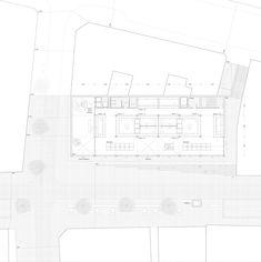 Cremades . Muñoz . KRI. Market and Multipurpose Building . Sanxenxoafasia (7) | a f a s i a Floor Plans, Diagram, Marketing, Building, Aphasia, Buildings, Construction, Floor Plan Drawing, House Floor Plans
