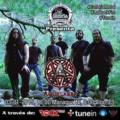 En los 105.5 de Rock FM y www.EuforiaMetal.com #EuforiaMetal #MetalerosHastaLaMuerte