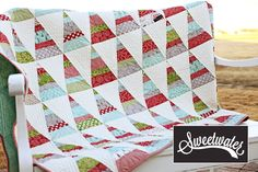 """New quilt kit from Sweetwater.  Fabric is """"Holly's Tree Farm""""!"""