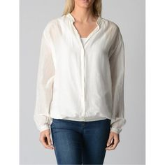 White S Fred Perry Womens Blouse 31202501 7082