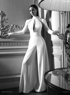 she-loves-fashion: SHE LOVES FASHION: Bond Girl Berenice Marlohe from Skyfall to Harper's Bazaar