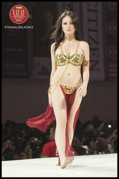 Leia cosplay