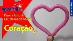 Aprendi.net: Escultura de balões - Coração (com áudio)