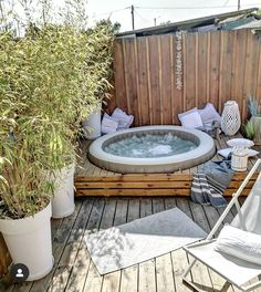 🅢🅟🅐 Hello, We had a very nice day on the basin today . Outdoor Entertaining, Outdoor Fun, Outdoor Spaces, Outdoor Decor, Hot Tub Patio, Backyard Patio, Outside Living, Outdoor Living, Deco Spa