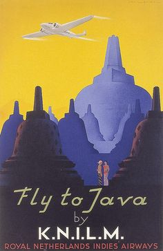 Fly to Java by KNILM. 1938 by kitchener.lord, via Flickr