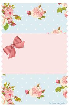 Bala personalizada Floral