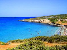 The peaceful #beach of Kolokythas in #Crete