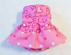 Female Dog Diaper Skirt Perfect for your dog in Season and House Training Hearts and Dots by piddleronthewoof on Etsy Female Dog Diapers, Hearts, Dots, Training, Seasons, Boutique, Trending Outfits, Unique Jewelry, Handmade Gifts
