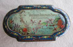 Ancienne Boite Bonbon A LA Renommée Tole Litho 1900 Épicerie Sweet TIN BOX | eBay