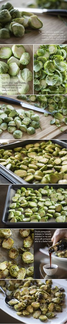 Mouth-Watering Crispy Brussels Sprouts (plus 7 ways to flavour them!) #justeatrealfood #ohsheglows