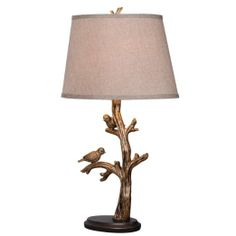 Kenroy Home 32295BRZD Tweeter Table Lamp, Bronzed Finish - Home Complements - Amazon.com