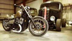 Hot rod and bobber