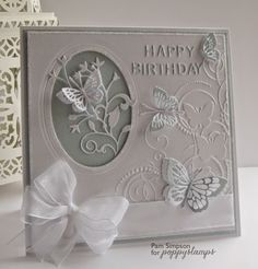 Flight Of butterflies.. Poppystamp dies..