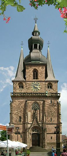 Wendalinusbasilika - Cathedral in St. Wendel, Saarland - Germany