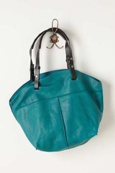 NWT-ANTHROPOLOGIE-by-HOLDING-HORSES-LEATHER-TURQUOISE-CITY-PICNIC-HOBO