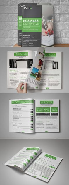 cetho business proposal template indesign indd 12 pages