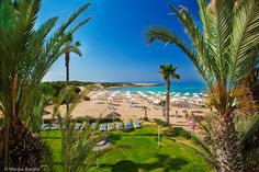 Cyprus Agia Napa. Makronissos beach (west)