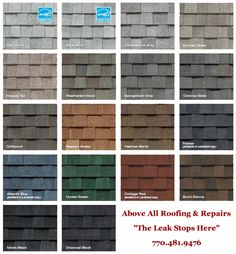 Asphalt Roof Shingles Colors Roofing Shingles In 2018