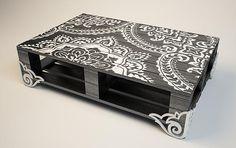 Palet Table, журнальный стол из поддонов, дизайнерский стол | Каталог
