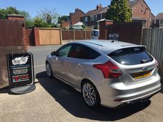 2012 Ford Focus in this morning for 18% Carbon tints to the rear to help keep the car cool.