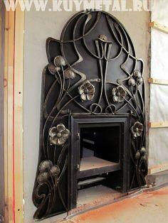 Кованый декор для камина. Цена 35 000 р/м