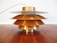 60s DANISH MODERN Poul Henningsen Alto Style ARTICHOKE PENDANT LAMP. $395.00, via Etsy.