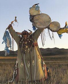 Shaman:  Mongolian Shamanism.