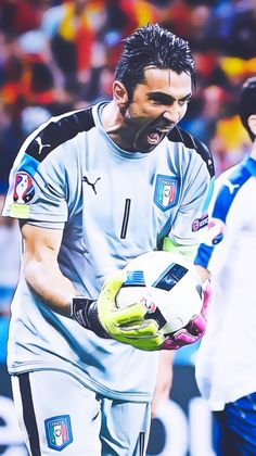 "Gianluigi ""Gigi"" Buffon is an Italian professional footballer who plays as a goalkeeper. He captains both Serie A club Juventus and the Italy national team. Born: 28 January 1978 (age 39), Carrara, Italy Height: 1.91 m Spouse: Alena Šeredová (m. 2011–2014) Partner: Ilaria D'Amico (2014–) Current teams: Juventus F.C. (#1 / Goalkeeper), Italy national football team (#1 / Goalkeeper) Did you know: Gianluigi Buffon ranks second among Juventus F.C. players by a total number of appearances (629)."