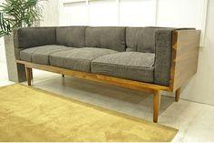 Modern Chairs FD20C 北欧チーク材ファブリック3Pソファー1円アウトレット家具 インテリア 雑貨 ¥15500yen 〆05月27日
