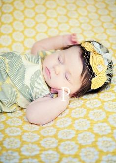 For when we have a girl. Normally I'm not a big head band fan, but this is adorable!