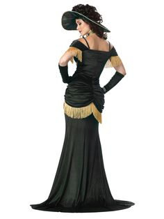 saloon girl costumes for women | Saloon Madame Costume (01203)