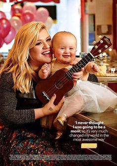 Kelly Clarkson and her daughter River Rose.