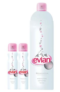 Evian Facial Water Spray Set ($31.50 Value) available at #Nordstrom  $17.50