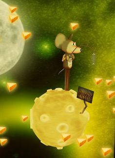 Geomantia's awesome pic for a crazy contest themed CHEESE! LOL