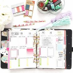 Probably my favorite spread by far!  I love @vintageglamstudio's kits! They're amazing  #kikkiklove #kikkik #kikkikplannerlove #plannerlife #plannerlove #plannernerd #planneraddict #plannergoodies #organizewithchar #planningwithbelinda #belindaweekly #studiocalico #filofax #plannerstickers #plannerdecoration