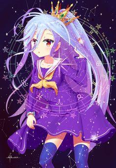 Shiro no game no life Loli Kawaii, Kawaii Anime Girl, Female Characters, Anime Characters, Nogame No Life, Manga Anime, Anime Art, Pedobear, Another Anime