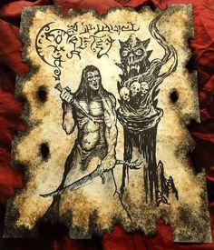 THE VAMPIRE KING Necronomicon Fragments cthulhu larp by zarono