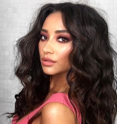 Shay Mitchell. Big hair, big dreams. Thanks to the glam squad today: @patrickta & @cesar4styles  #lifedeliziosa