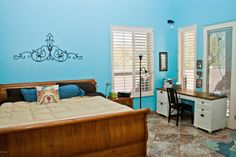 This spacious master bedroom offers a relaxing retreat. http://teamwoodall.com/lunabella/