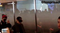BTS 防弾少年団 羽田空港到着 151207 スマホ撮影の為画質は良くないです……