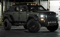 """2015 Terradyne Armored Vehicles GURKHA Civilian Edition  Power: 300 hp / 224 kW Weight: 13,500 lbs / 6123 kg Engine: Front V8  Shared via @luxuper app,…"""