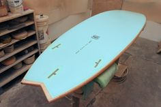 Wood n' Blue Board (wifes request)