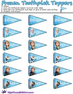 Stampabili gratuiti per il film di Disney congelati | SKGaleana