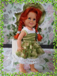 Nr. 141 Crochet Hats, Dolls, Vintage, Fashion, Latin Dance, Knitting Hats, Baby Dolls, Moda, Fashion Styles