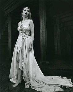 Pericles, 1973 Martha Henry as Thaisa Photo: Robert C. Stratford Shakespeare, Stratford Festival, Shakespeare Festival, William Shakespeare, Throwback Thursday, Formal Dresses, Wedding Dresses, One Shoulder Wedding Dress, Fashion