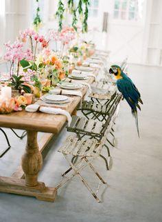 Cuban Wedding | Found Vintage Rentals  #table #chair #dining #cuban #weddingdecor #weddingdetails #eventdecor #vintagerentals #vintagefurniture